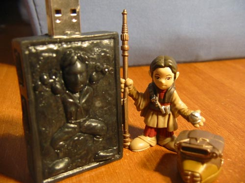 Han Solo in Carbonite USB Flash Drive