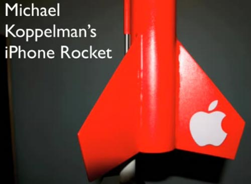 iphone rocket