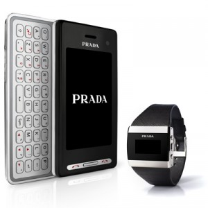 LG Prada II gets a matching Bluetooth Watch