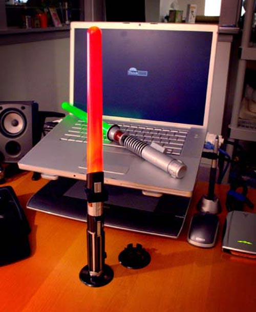 lightsaber desk lamp