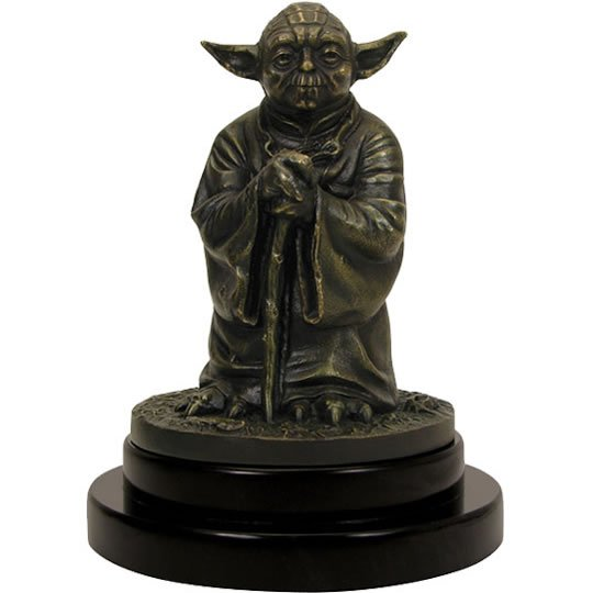 limited edition yoda statue