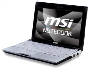 MSI announces the Wind U120 Netbook