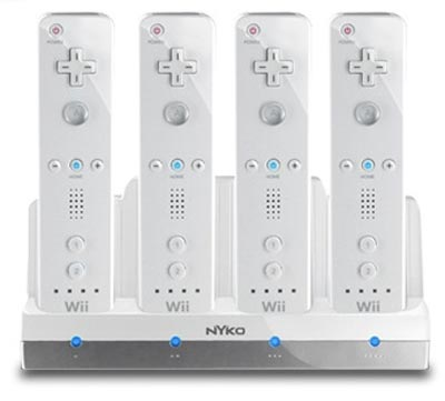 nyko charge station quad