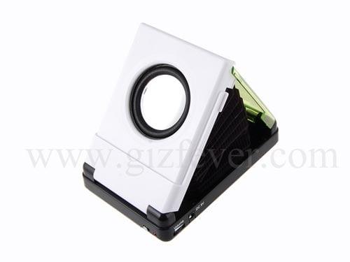 pocket foldable speaker