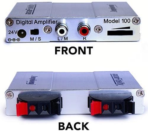 Pocket Sized 50 Watt T- Amplifier