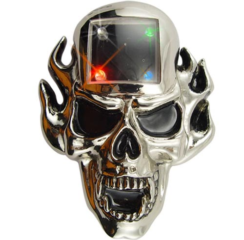 Skull MP3 Player Belt Buckle