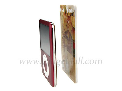 Slim card mp3 player