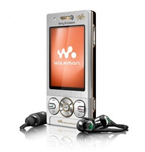 Sony Ericsson W705 Walkman Phone