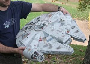 Geek Toys – The Star Wars Millennium Falcon