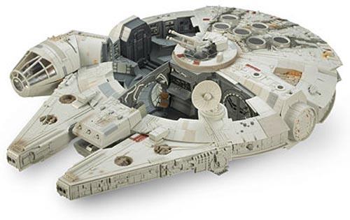 geek toys the star wars millennium falcon. Black Bedroom Furniture Sets. Home Design Ideas