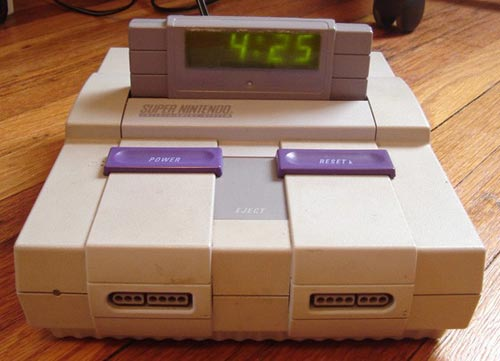 DIY Super NES Alarm Clock