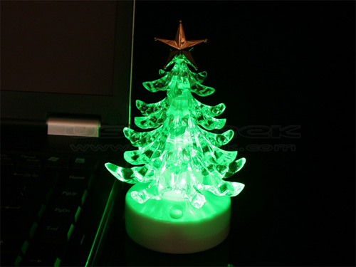 USB Musical Christmas Tree