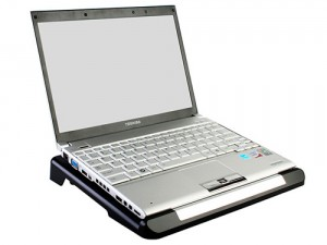 USB Notebook Cooling Pad with HDD Dock and USB Hub