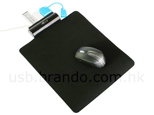 USB 3 Port Hub Mousepad