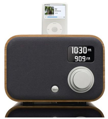 ipod accessories the vers 1 5r ipod dock alarm clock. Black Bedroom Furniture Sets. Home Design Ideas