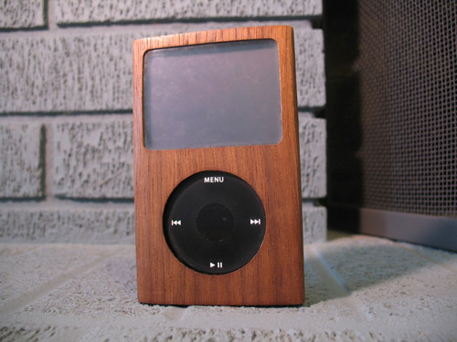 Wooden iPod Case