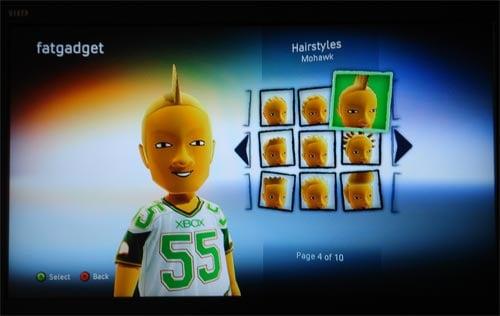 xbox experience avatars