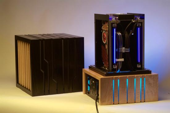 Chiaroscuro PC Case Mod