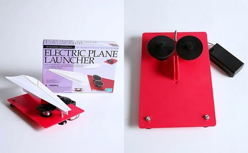 Electric Paper Plane Launcher