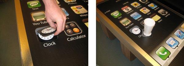 phone coffee table