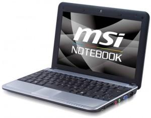 MSI launches the World's first Hybrid Storage Netbook – MSI U115 Hybrid