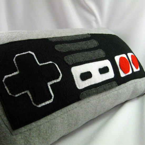 Nes Controller Pillows
