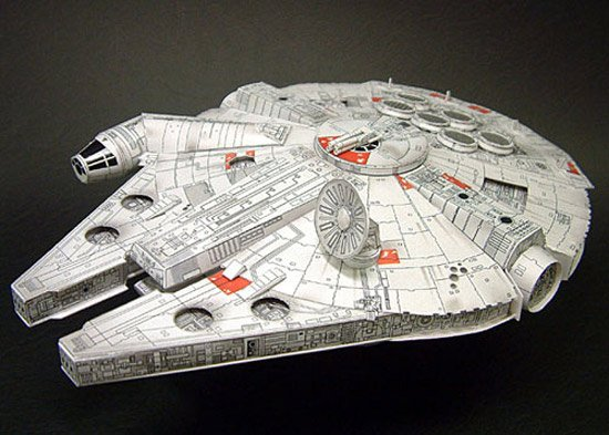 Papercraft Millenium Falcon