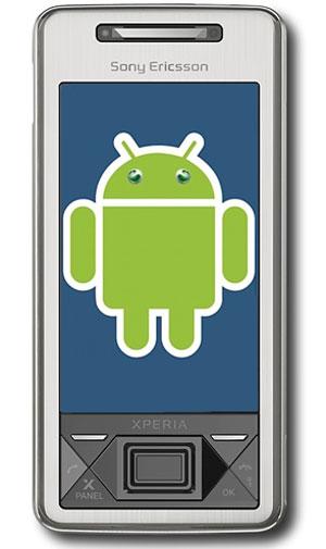 sony ericsson android handset