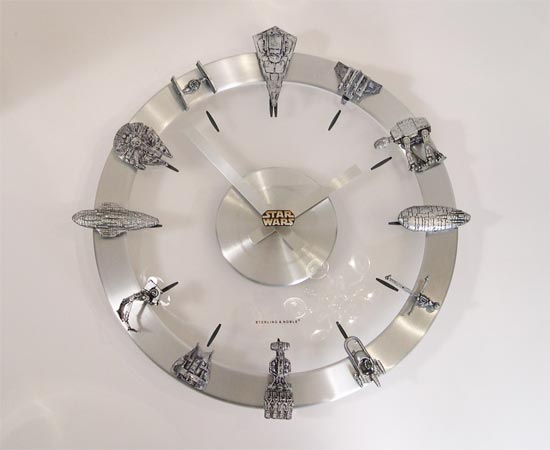 star wars clock