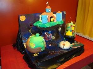 Geeky Cakes – The Super Mario Galaxy Cake