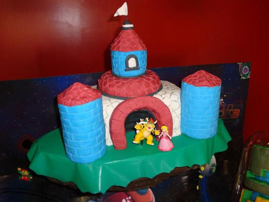 Geeky Cakes The Super Mario Galaxy Cake