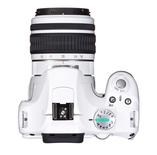 white pentax K2000