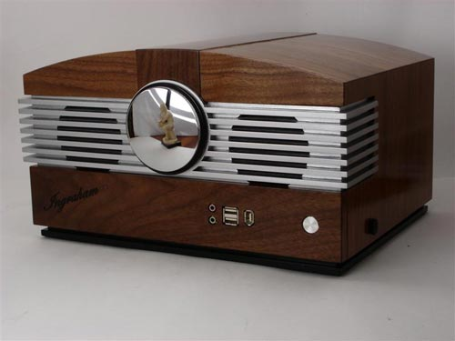 Cool Mods Retro Wooden Radio Pc Casemod