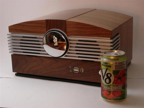 Wooden Radio PC Casemod