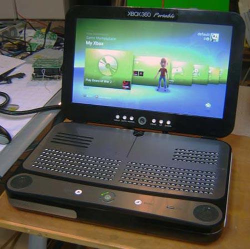 Ben Heck Xbox 360 Portable Mod