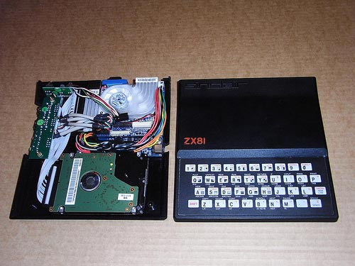 zx81 pc case mod
