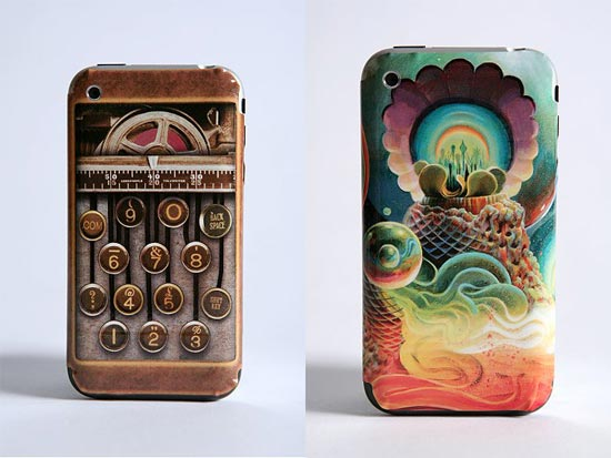 These cool iPhone skins come