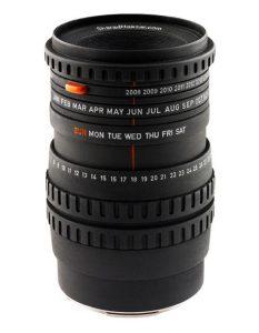 Design – The Camera Lens Calendar