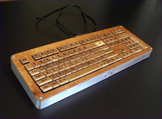 Datamancer Scrabble Keyboard