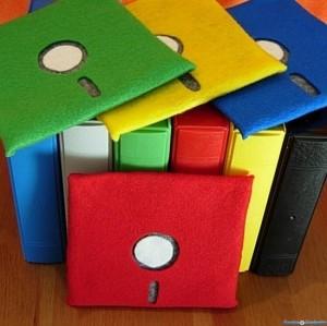 Geek Accessories – The Floppy Disk Coasters