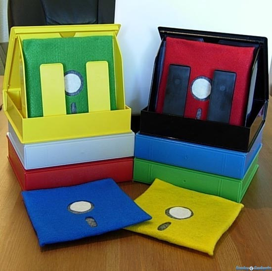 Floppy Disk Coasters