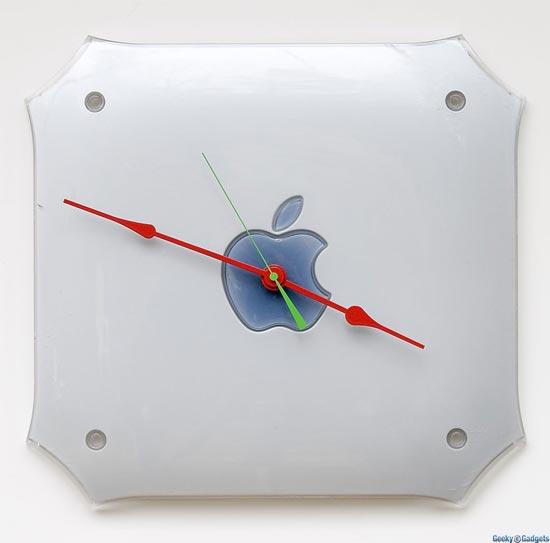 Apple G4 Mac Clock
