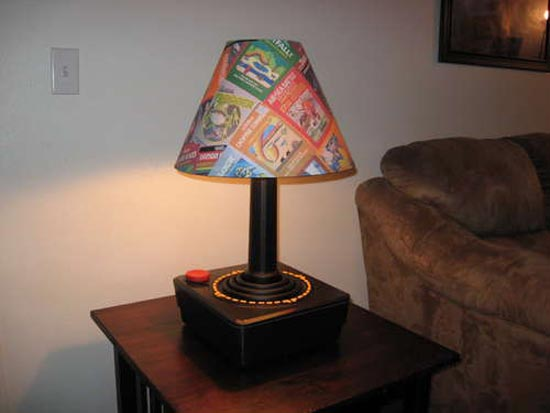 Giant Atari Joystick Lamp