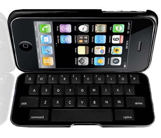 iPhone 3rd Party Keyboard Concept