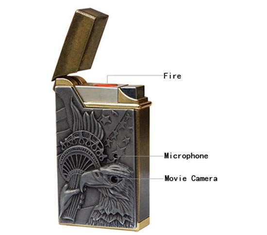 Spy Camera Lighter DVR