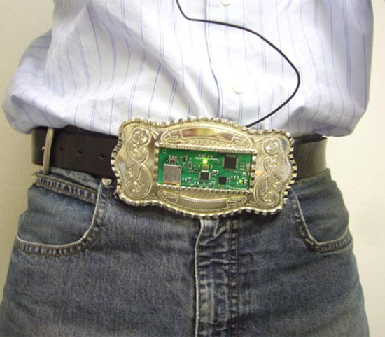 Belt Buckle MP3 Player