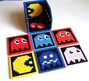 Geeky Accessories – Pacman Coasters