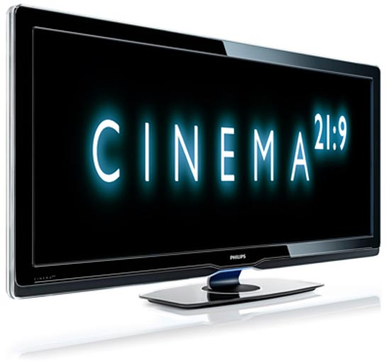 Philips Cinema 21:9 LCD TVs