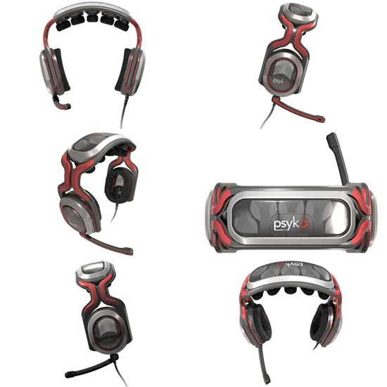 psyko 5.1 gaming headphones