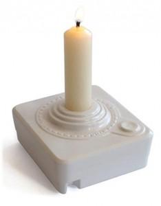 Retro Atari Joystick Candleholder